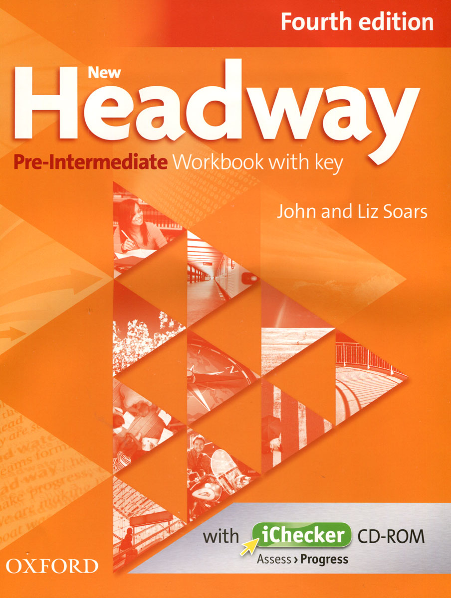 цена на New Headway: Pre-Intermediate: Workbook with Key (+ CD-ROM)