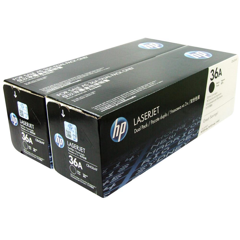 Картридж HP 36A, черный, для лазерного принтера, оригинал