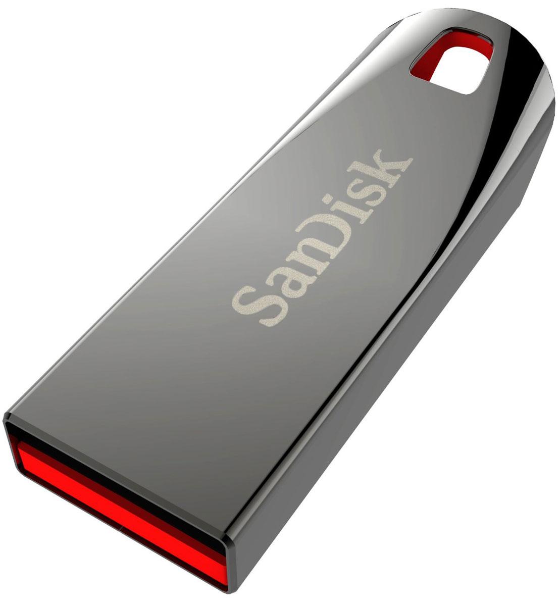 Фото - SanDisk Cruzer Force 32GB, Metallic USB-накопитель видео