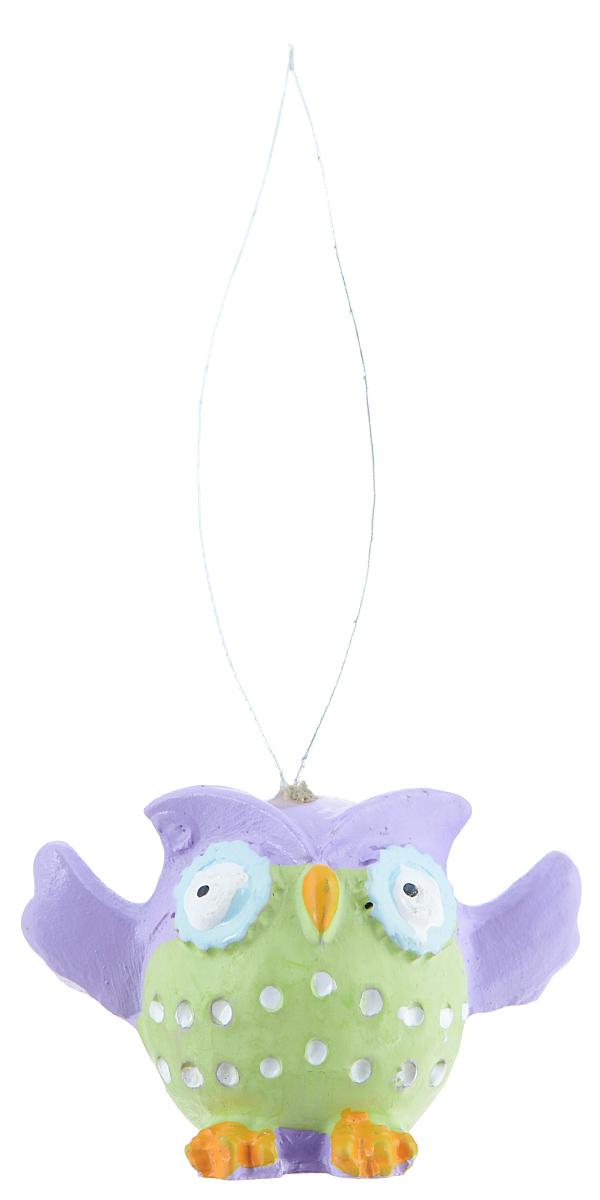 Декоративное подвесное украшение Феникс-презент Летящие совы, 3 х 4 х 3 см, 4 шт феникс презент набор украшений 5 шт