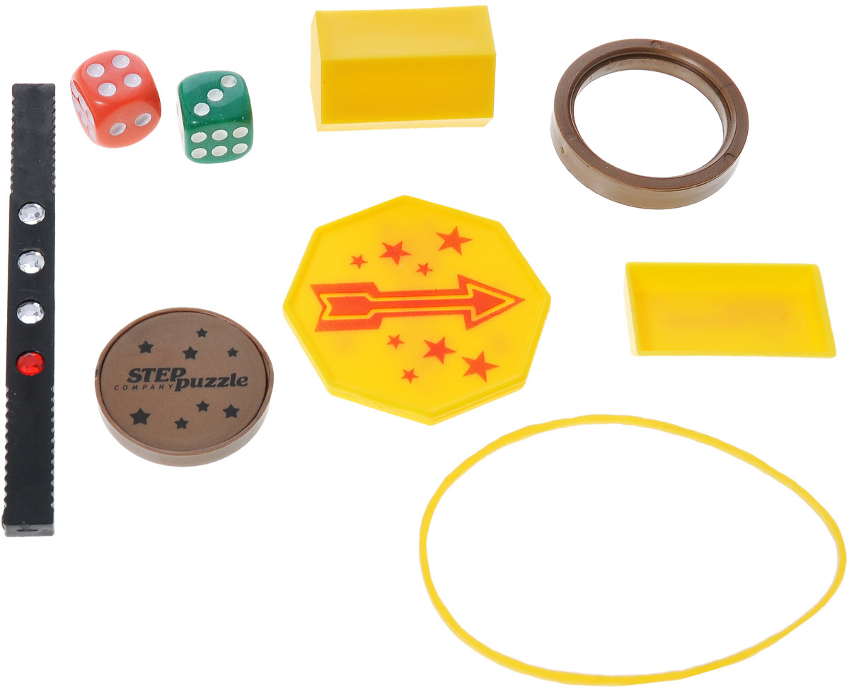 """Step Puzzle Набор для фокусов """"Школа волшебства: 10 фокусов"""", цвет: красный"""