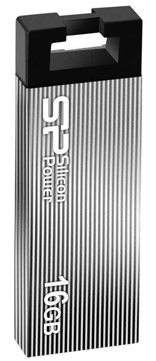 Silicon Power Touch 835 16GB, Grey USB-накопитель