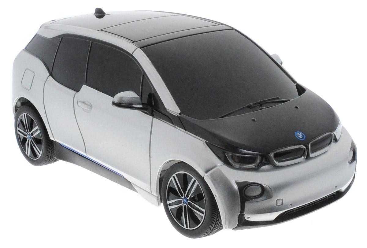 Rastar Радиоуправляемая модель BMW i3 цвет серебристый цена
