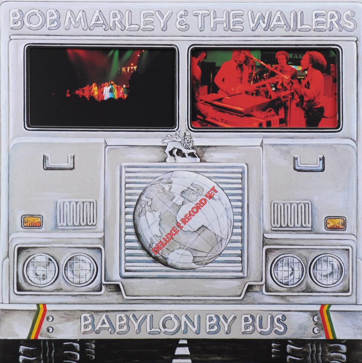 Боб Марли Bob Marley. Babylon By Bus. Deluxe 2 Record Set (2 LP) sexy style halter neck side tie printed bikini set for women