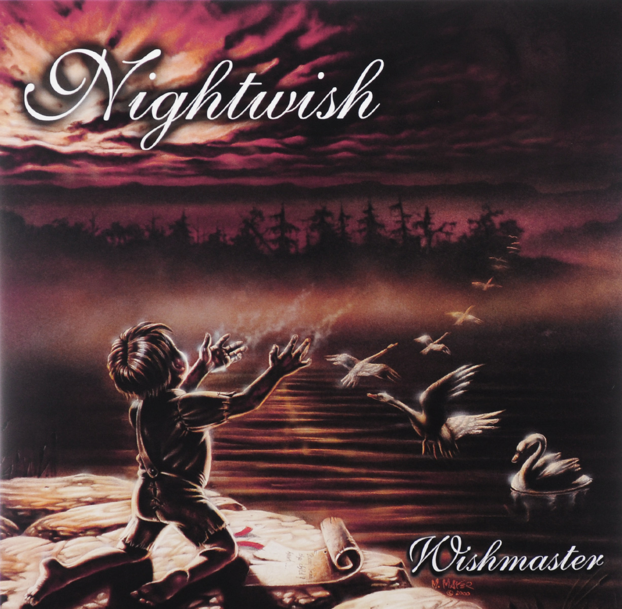 Nightwish Nightwish. Wishmaster (2 LP) nightwish manchester