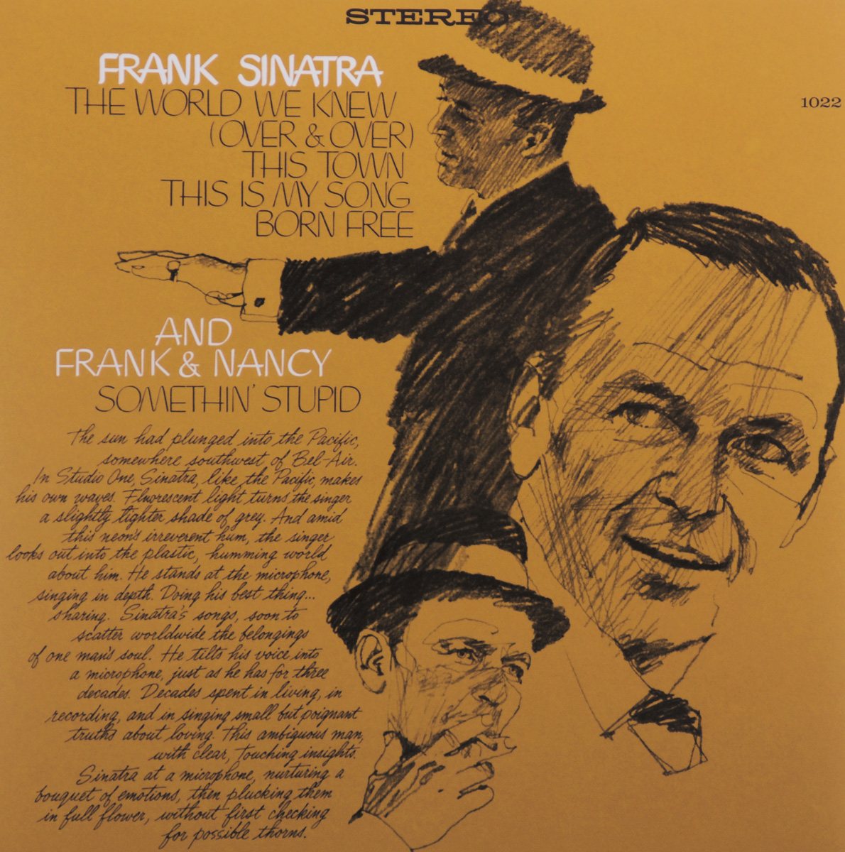 Frank Sinatra. The World We Knew (LP) original new innolux 5 6 inch at056tn53 v 1 lcd screen with touch