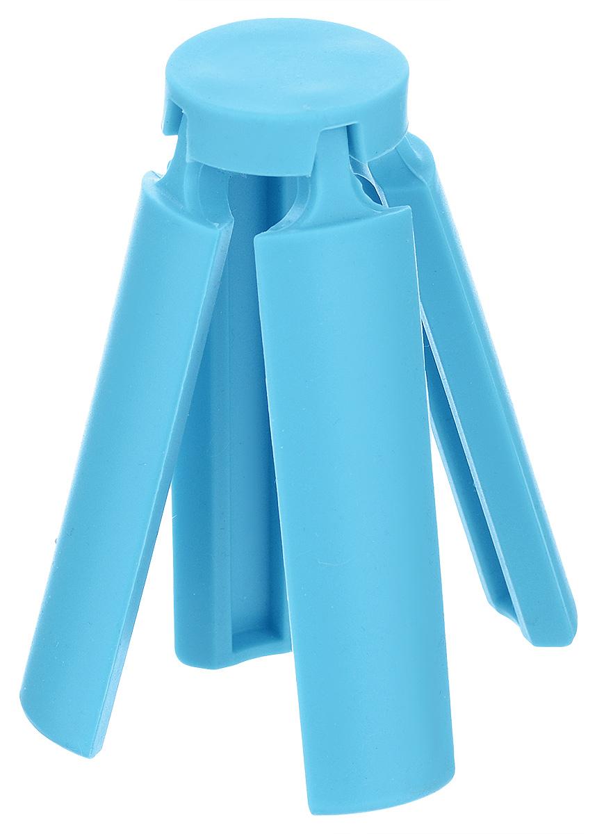 """Подставка под горячее """"Marmiton"""", складная, цвет: голубой, 21,6 х 21,6 см"""