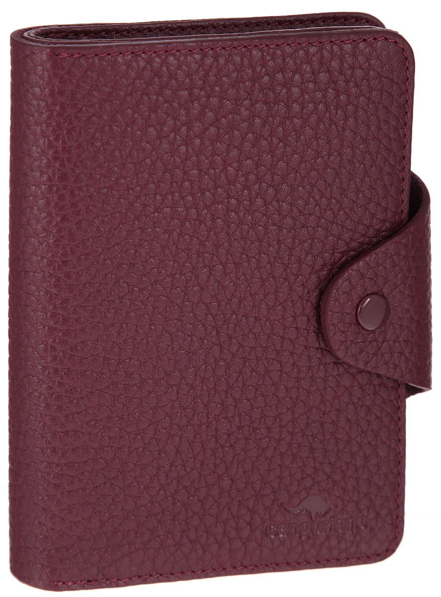 Портмоне женское Cangurione, цвет: бордовый. 2135-012 портмоне мужское cangurione цвет черный 1214 001 v black