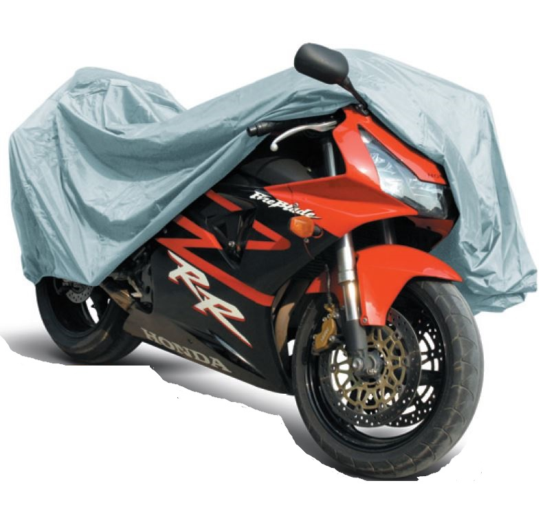 Защитный чехол-тент на мотоцикл AVS, 246 см х 104 127 см. Размер XL