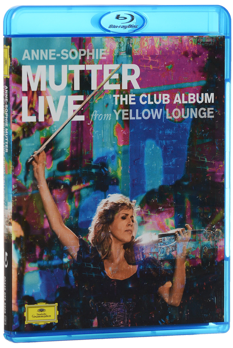 Anne-Sophie Mutter: Live From Yellow Lounge (Blu-ray) e e taubert suite no 2 op 70