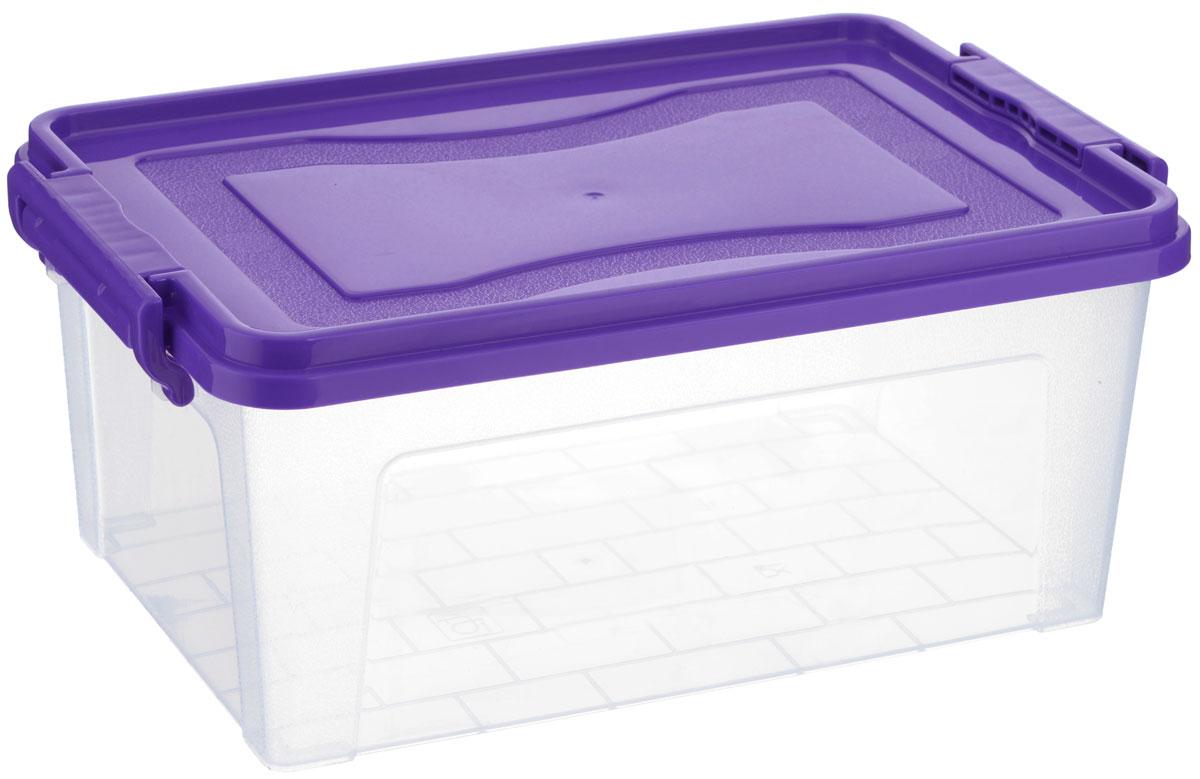 Контейнер для хранения Idea, прямоугольный, цвет в ассортименте, 8,5 л контейнер для хранения idea прямоугольный цвет салатовый прозрачный 8 5 л