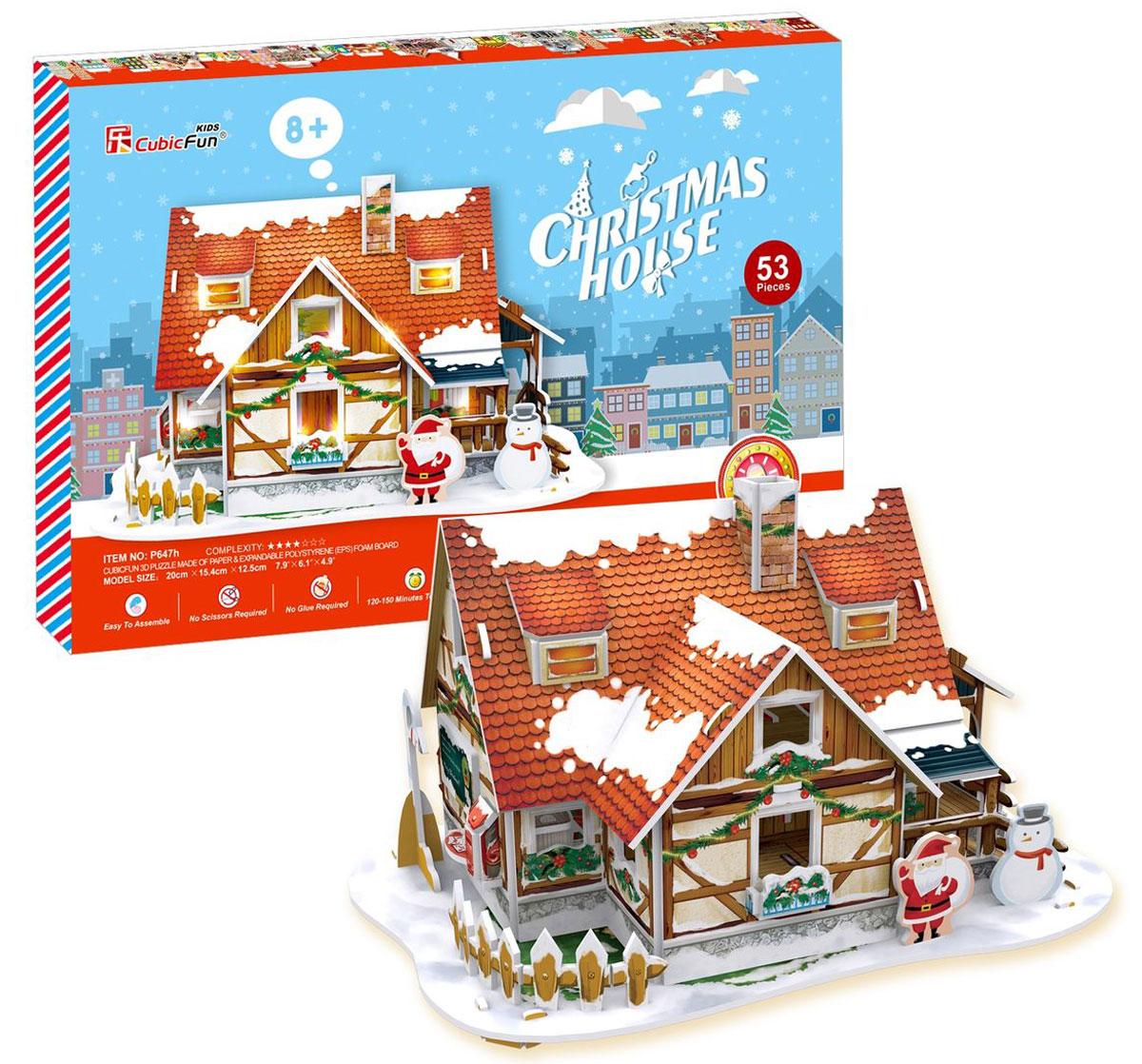все цены на CubicFun Пазл Рождественский домик 1 онлайн