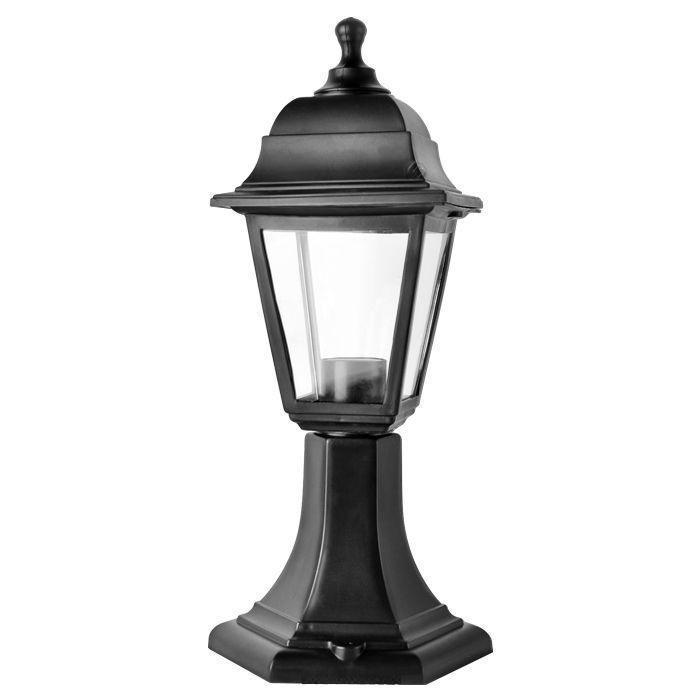 Светильник садовый НТУ04-1-60-Е27 черный настольный светильник ультра лайт cz 2 a ночник часы к
