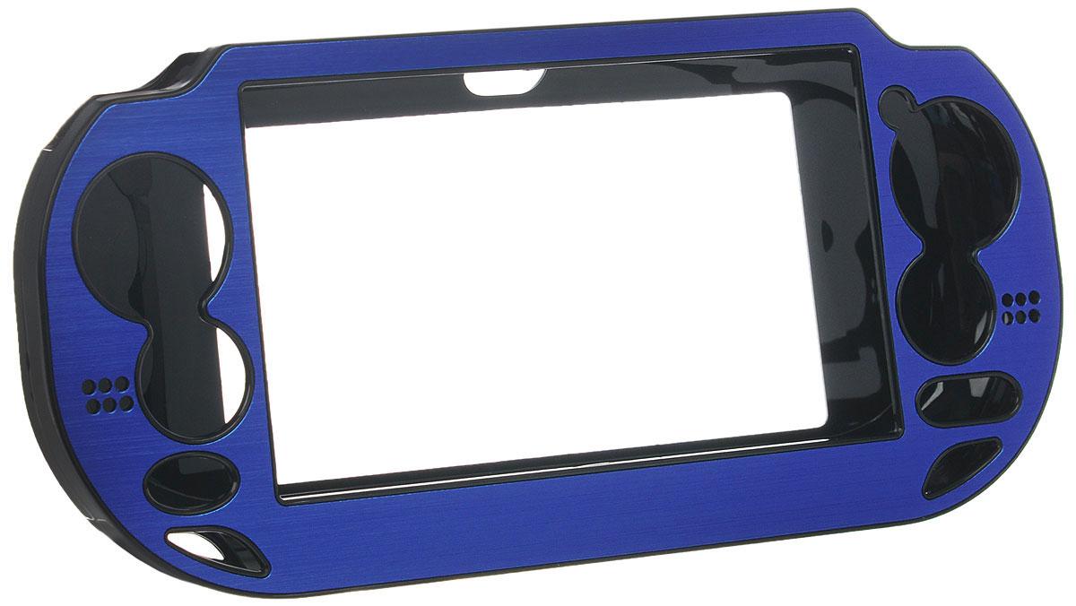 Защитный металлический чехол Black Horns для PS Vita (синий)