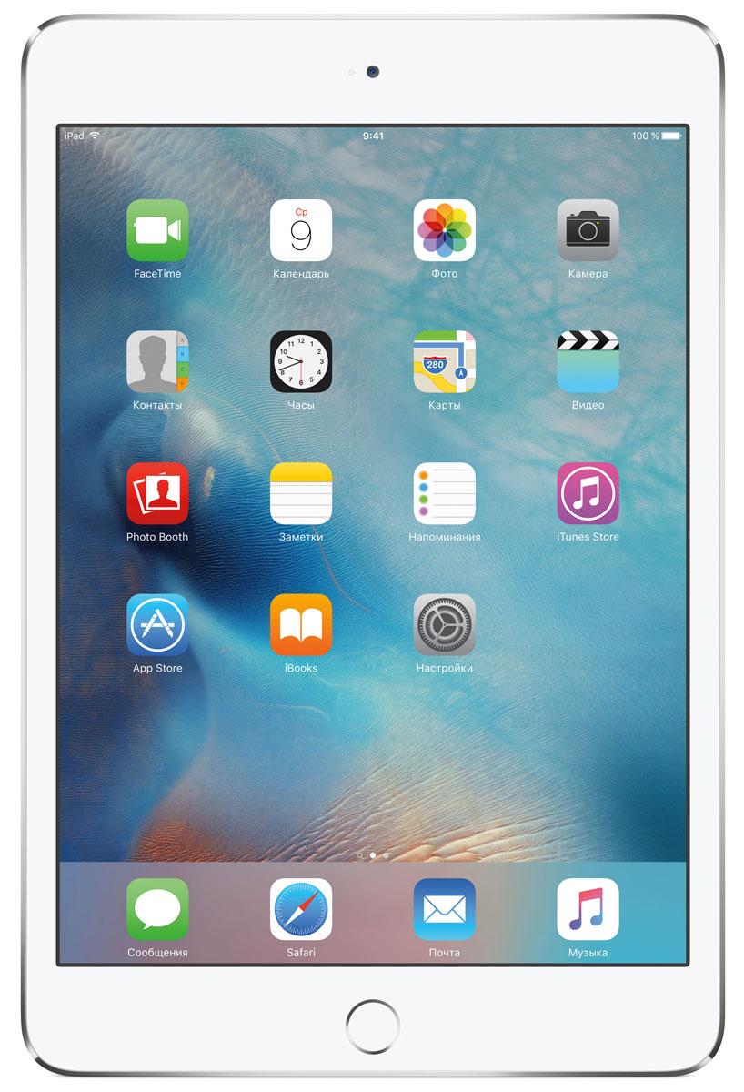 Планшет Apple iPad mini 4 Wi-Fi (2015), 128 ГБ, серебристый