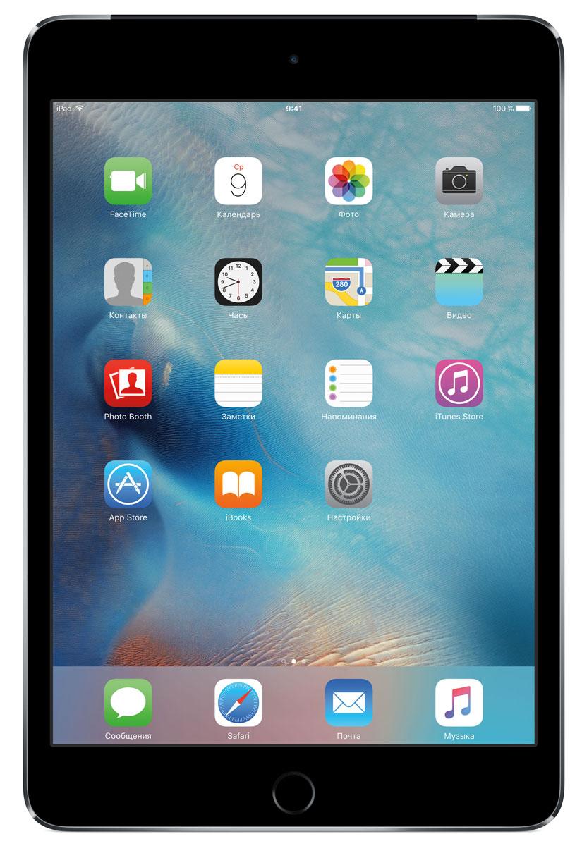 Планшет Apple iPad mini 4 Wi-Fi + Cellular (2015), 128 ГБ, серый космос