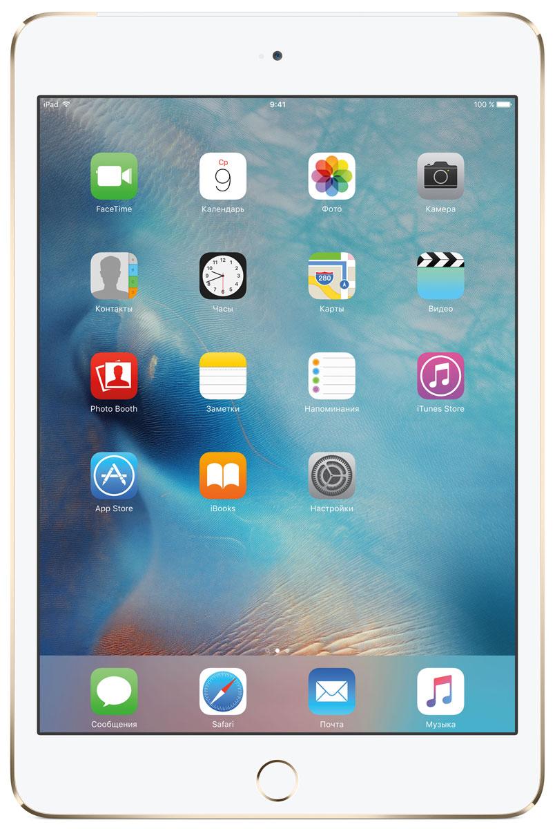 Планшет Apple iPad mini 4 Wi-Fi + Cellular (2015), 128 ГБ, золотой