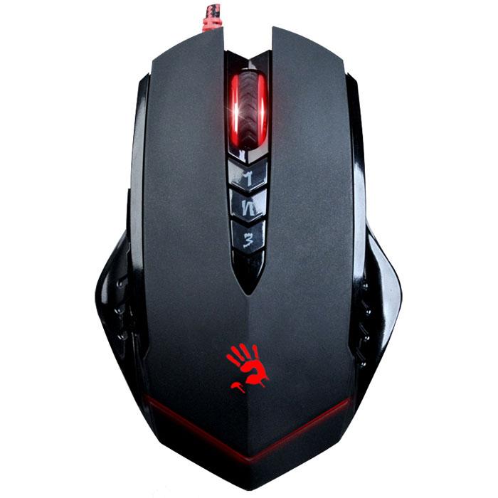 лучшая цена Игровая мышь A4Tech Bloody V8, Black