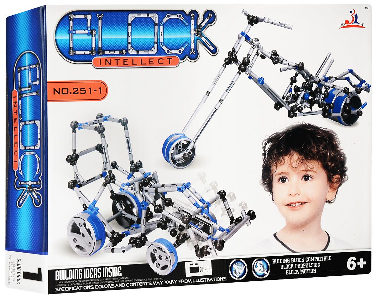 Intellect Block Конструктор Трактор deepsky v block
