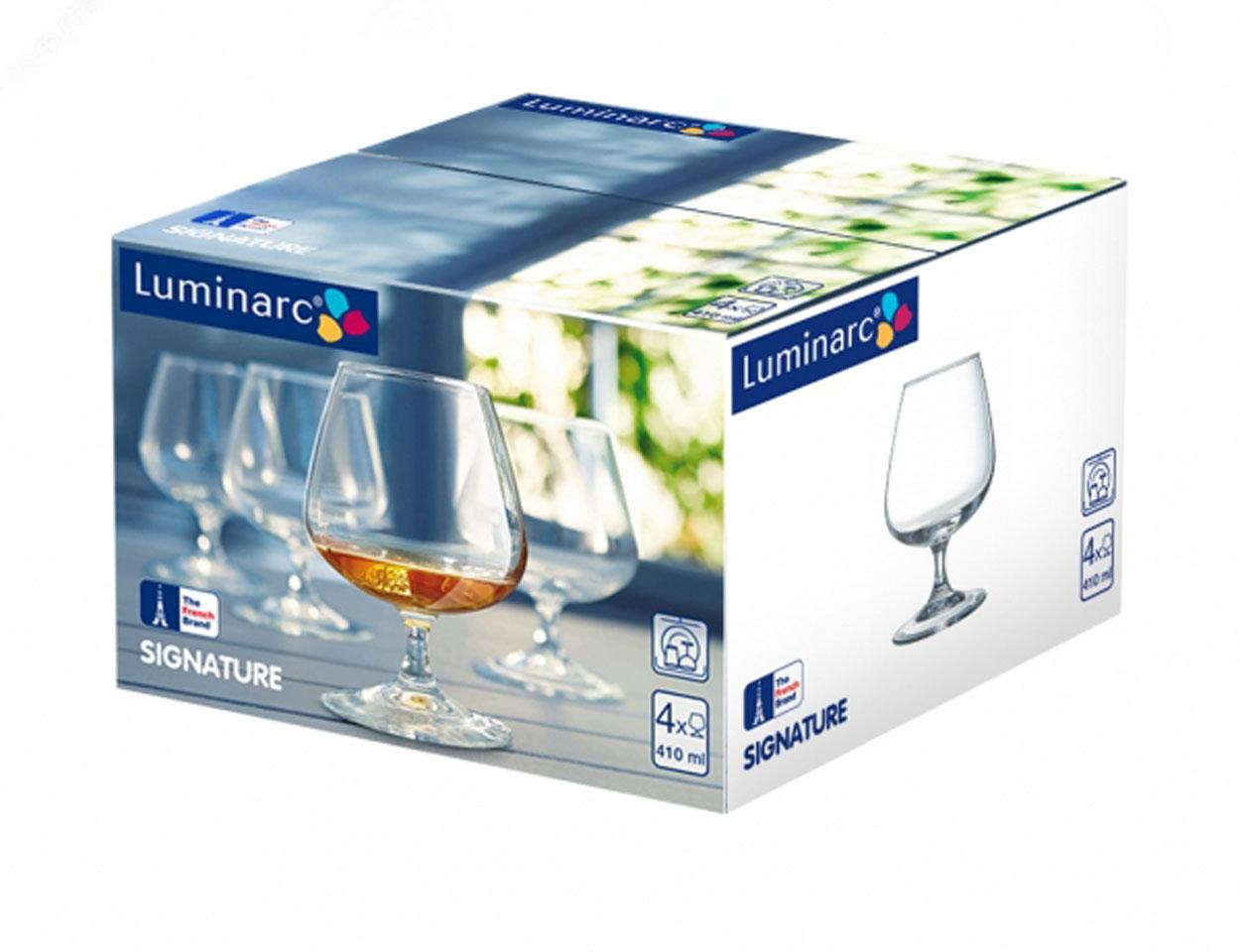 Набор бокалов для коньяка Luminarc