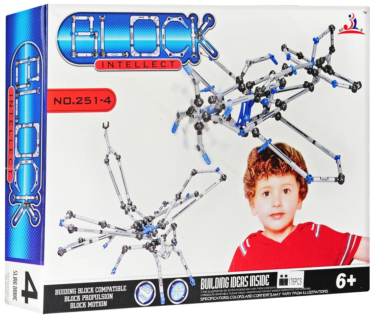 Intellect Block Конструктор Самолет deepsky v block