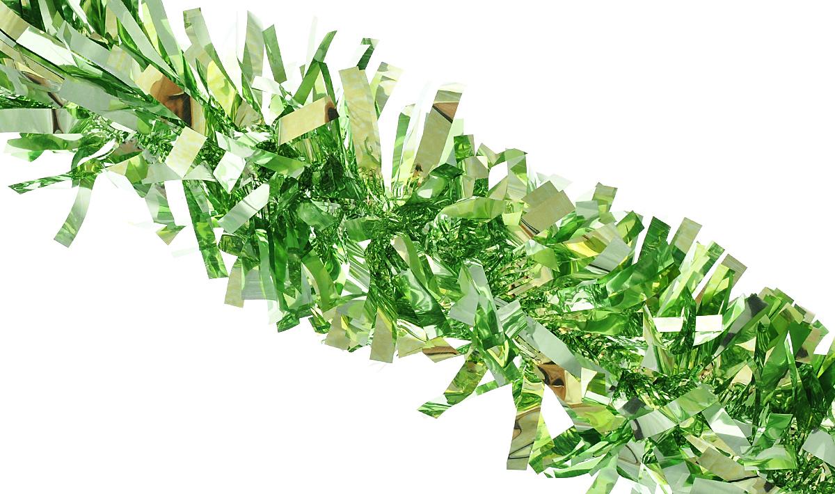 """Мишура новогодняя Феникс-презент """"Magic Time"""", цвет: светло-зеленый, диаметр 9 см, длина 200 см. 38187/75778"""