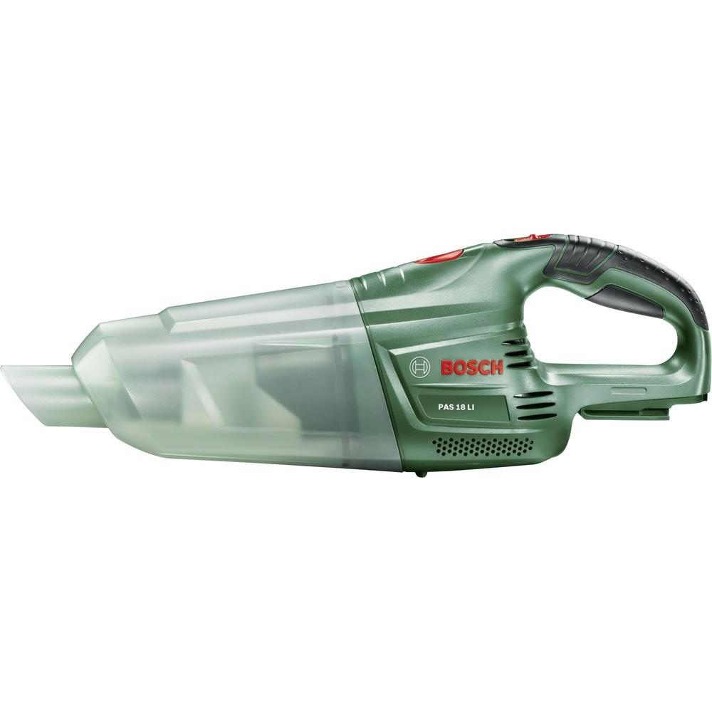 Ручной пылесос Bosch PAS 18 Li без аккумулятора и зарядного устройства 06033B9001 строительный пылесос bosch pas 18 li зеленый [06033b9001]