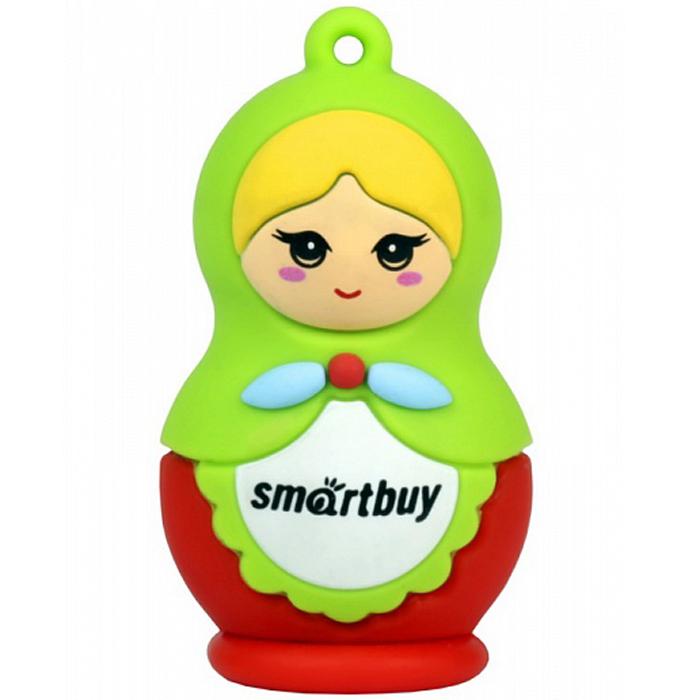 SmartBuy Wild Series Matrioshka 8GB USB-накопитель usb flash drive 8gb smartbuy wild hippo sb8gbhip