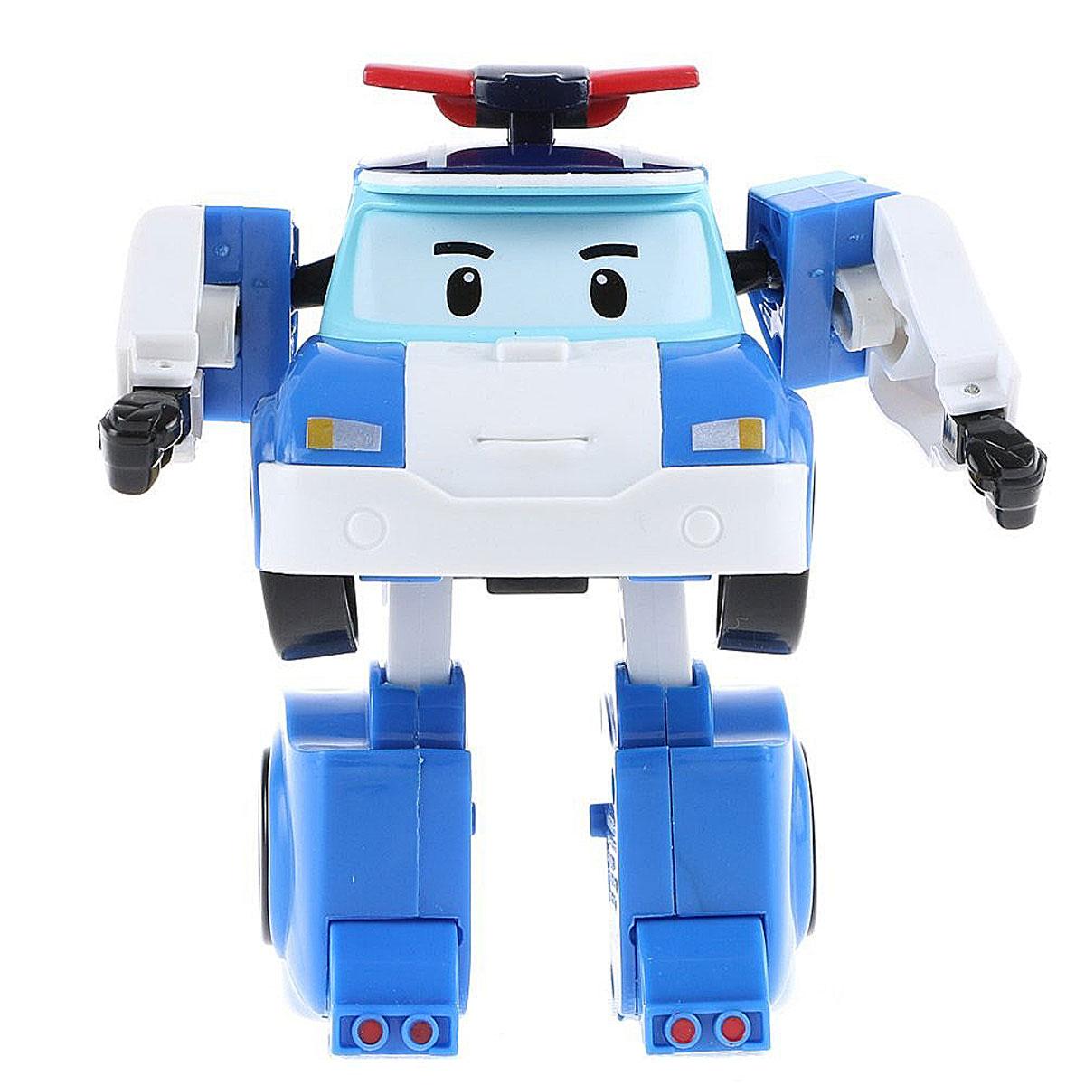 Robocar Poli Игрушка-трансформер Маленький Поли цвет белый голубой цена