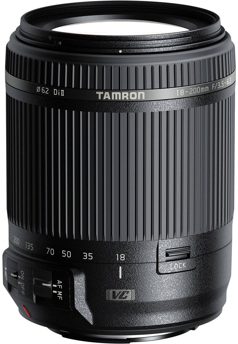 Объектив Tamron 18-200mm F/3.5-6.3 DI II VC, Black для Canon
