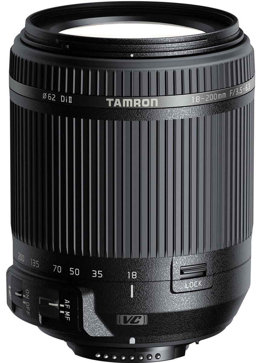 Объектив Tamron 18-200mm F/3.5-6.3 DI II VC, Black для Nikon
