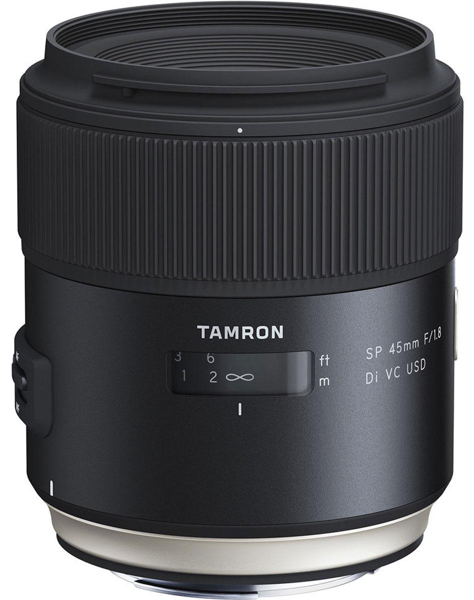 Объектив Tamron SP 45mm F/1.8 DI VC USD, Black для Canon