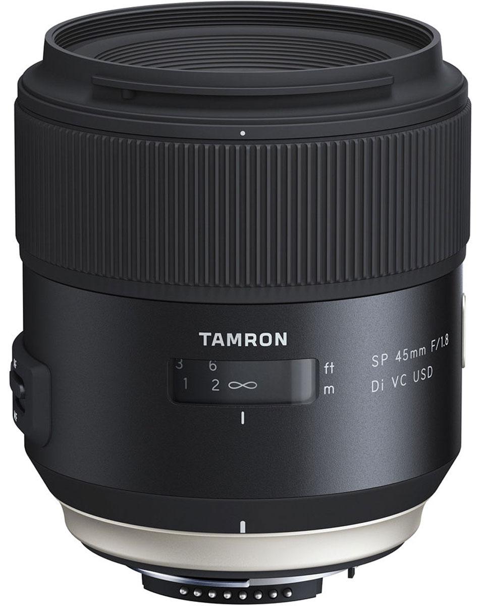 Объектив Tamron SP 45mm F/1.8 DI VC USD, Black для Nikon