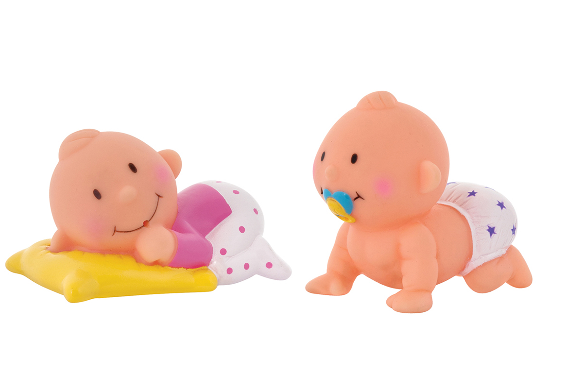 Курносики Набор игрушек-брызгалок для ванны Баю-Бай игрушка для ванны курносики куколка аленка