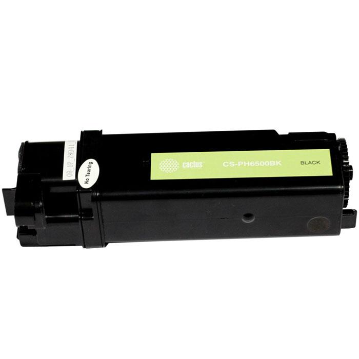 Картридж Cactus CS-PH6500BK, черный, для лазерного принтера