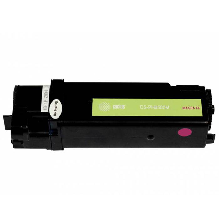 Картридж Cactus CS-PH6500M, пурпурный, для лазерного принтера