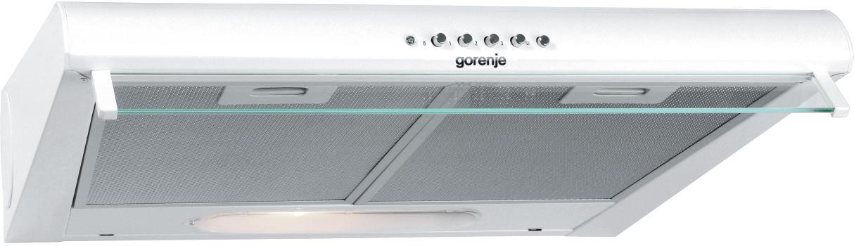 Вытяжка Gorenje DU 6446 W, встраиваемая вытяжка встраиваемая gorenje bhp623e12x