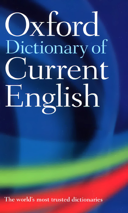 Oxford Dictionary of Current English oxford children s cornish english visual dictionary