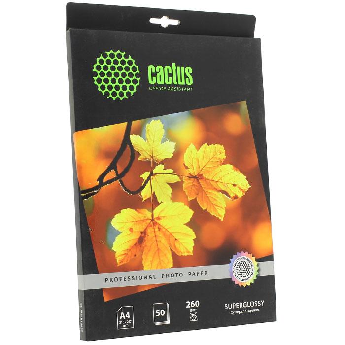 Cactus CS-HGA426050 Professional суперглянцевая фотобумага