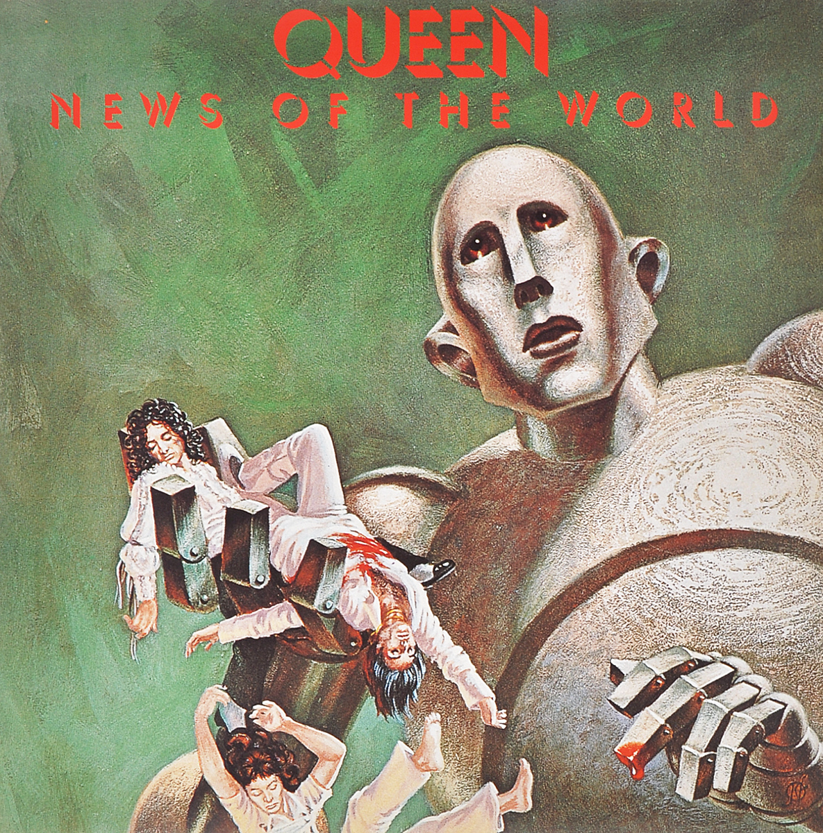 Queen Queen. News Of The World (LP) queen queen news of the world 180 gr