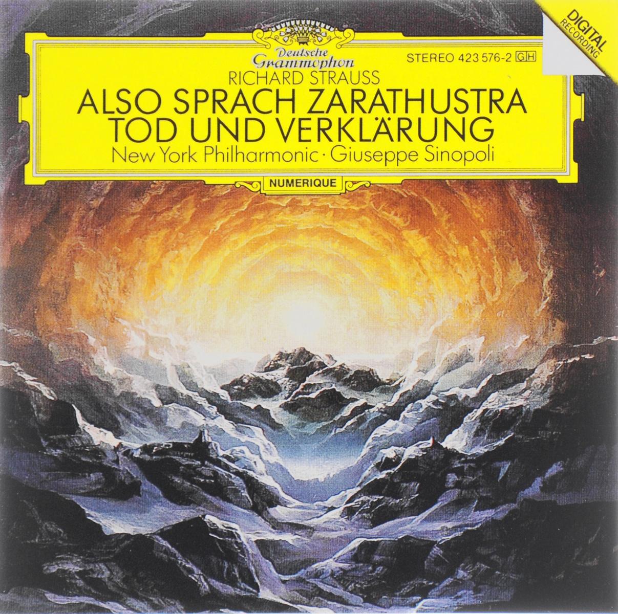 цена Джузеппе Синополи,New York Philharmonic Orchestra Giuseppe Sinopoli. Richard Strauss. Also Sprach Zaratustra / Tod Und Verklarung онлайн в 2017 году