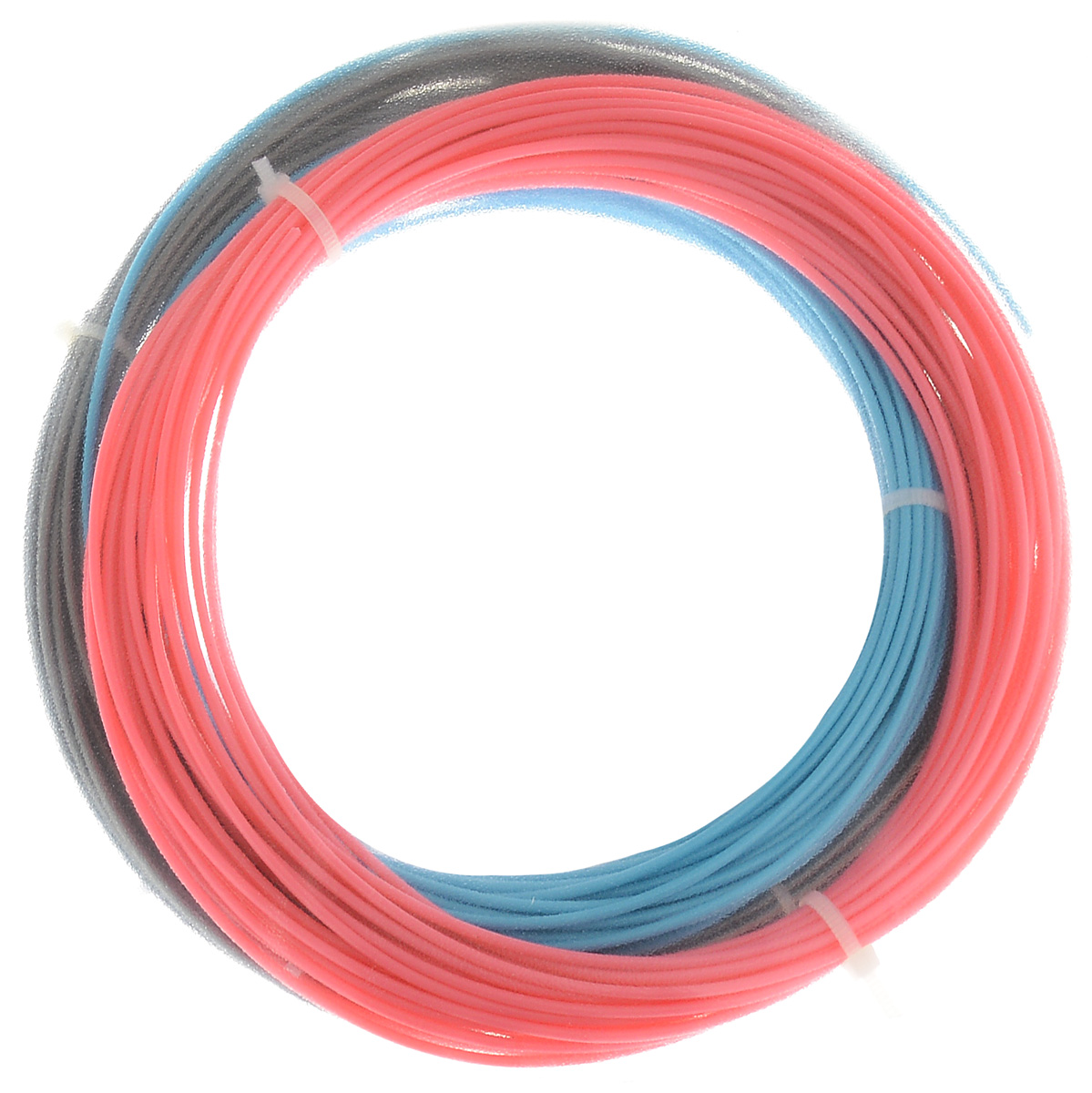 ESUN 3D Filament, Blue Pink Silver комплект ABS-пластика (10 м) open heacent reprap prusa mendel 3dp01 3d printer assembly kit 0 4mm nozzle 3mm filament