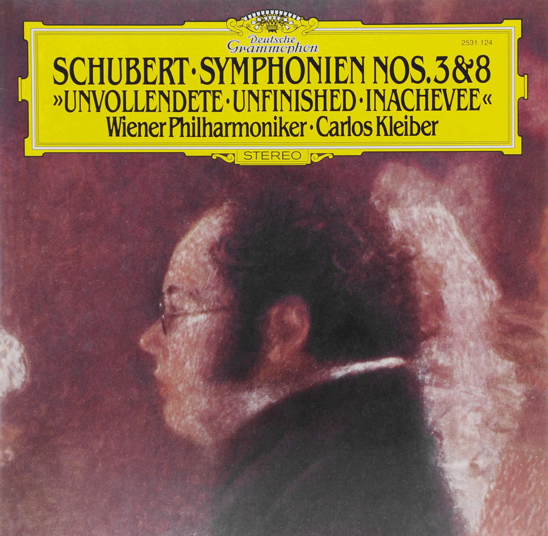 Карлос Кляйбер,Wiener Philharmoniker Carlos Kleiber. Schubert. Symphonien Nos. 3 & 8 (LP) карлос д алеззио carlos d alessio india song 2 cd