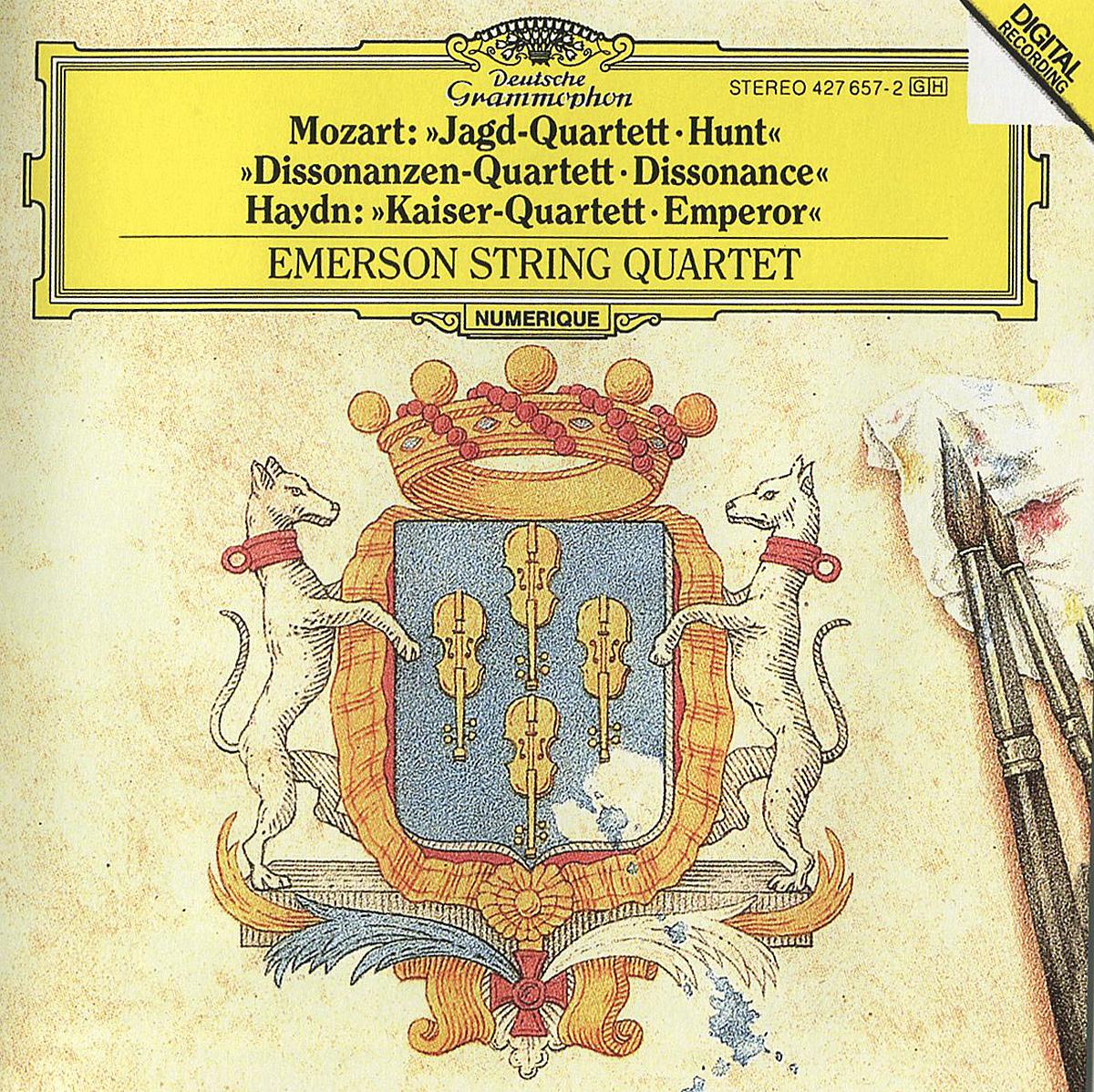 Emerson String Quartet Emerson String Quartet. Mozart. Jagd-Quartett. Dissonanzen-Quartett / Haydn. Kaiser-Quartett f kauffmann quartett op 14