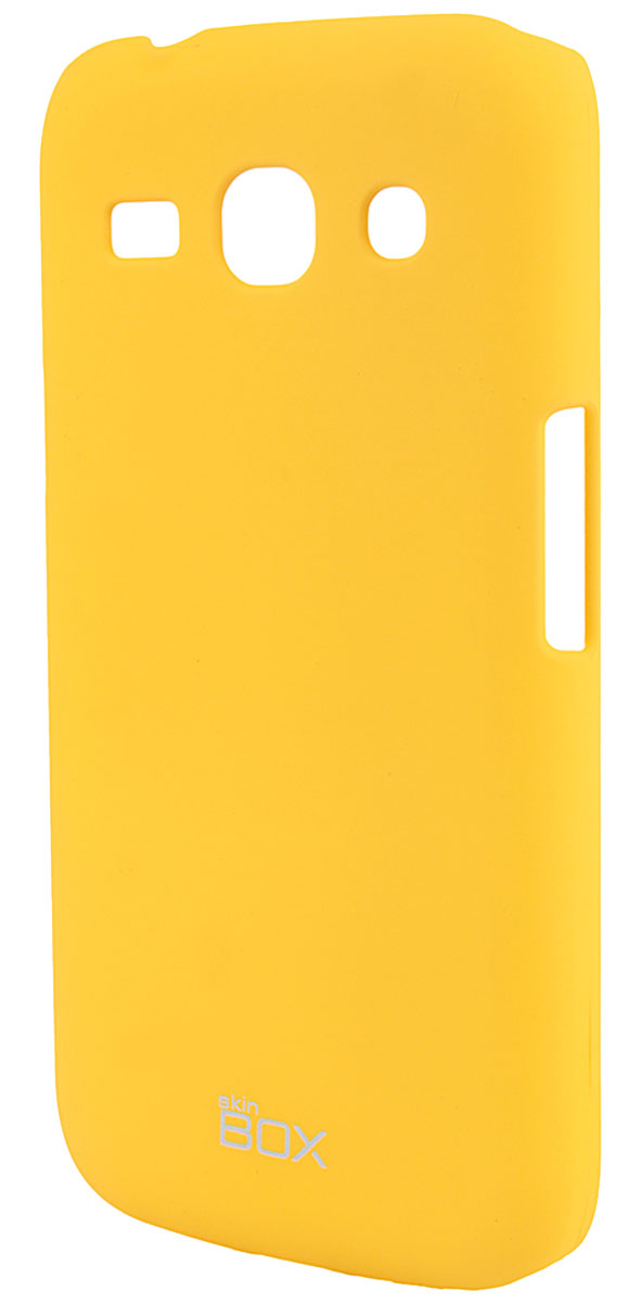 Skinbox 4People чехол для Samsung G350 Galaxy Star Advance, Yellow samsung star отзывы