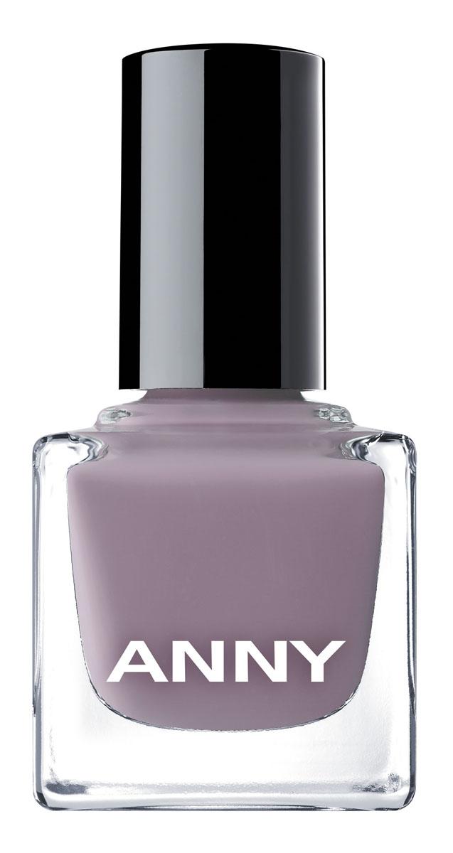 ANNY Лак для ногтей, тон № 305 холодный серо-сиреневый, 15 мл лак для ногтей anny anny an042lwcmoc8