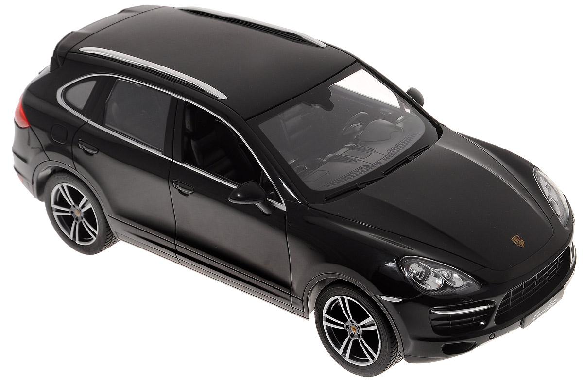 Фото - Rastar Радиоуправляемая модель Porsche Cayenne Turbo цвет черный масштаб 1:14 авто