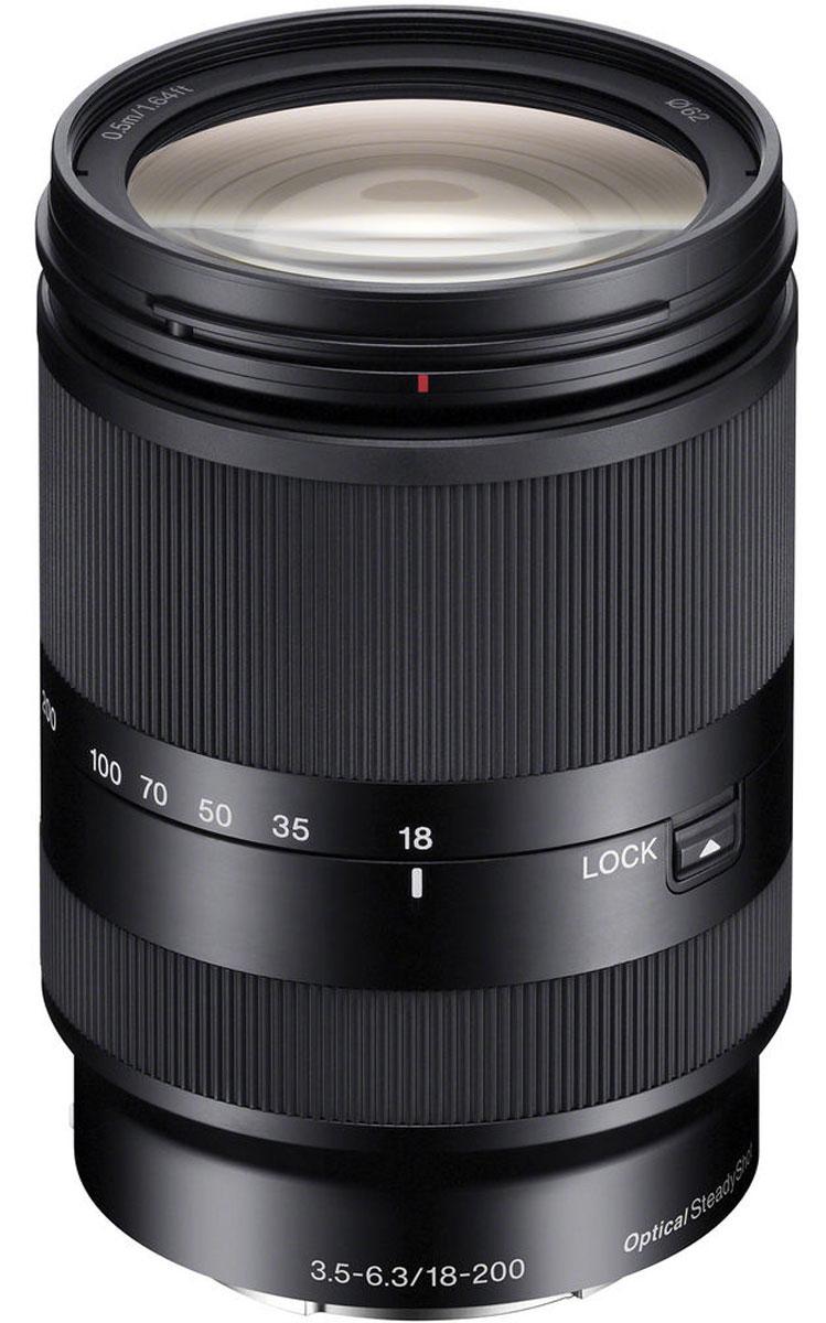 Объектив Sony 18-200mm F/3.5-6.3, Black для Nex