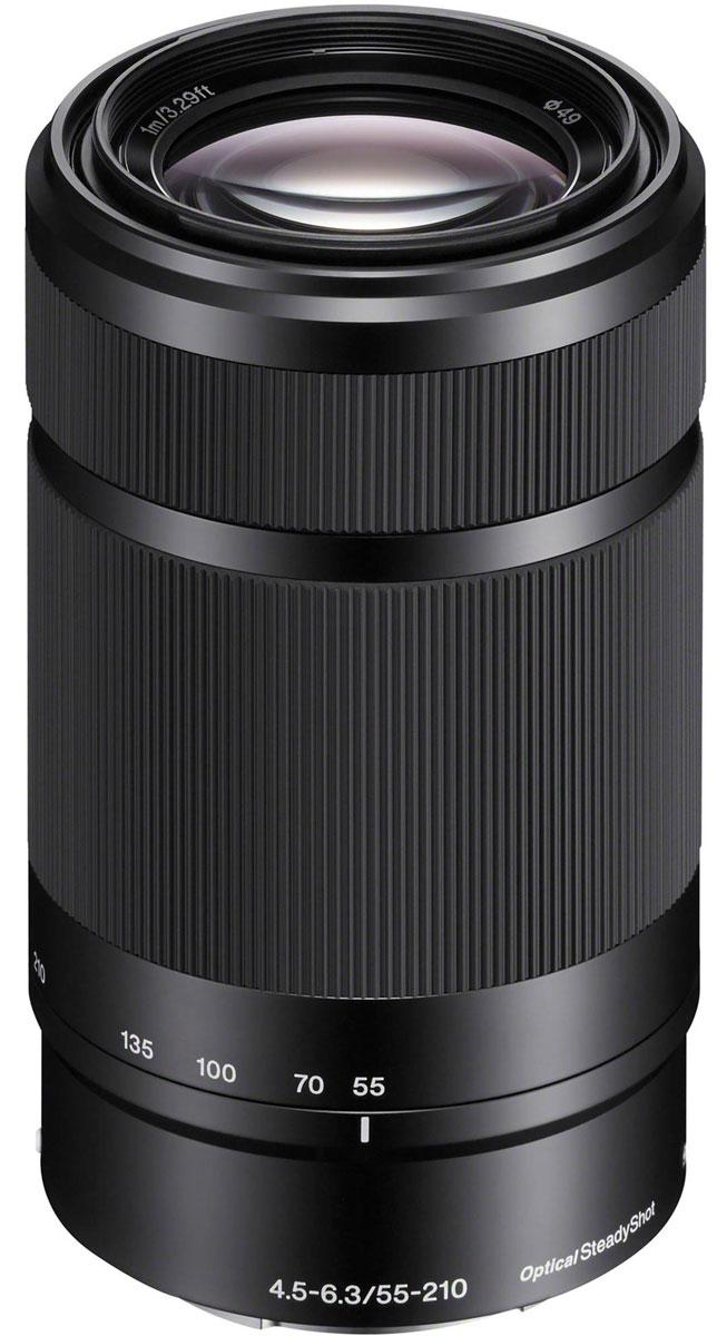 Объектив Sony 55-210 mm F/4.5-6.3, Black для Nex