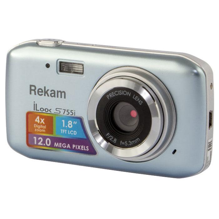 Rekam iLook S755i, Grey Silver цифровая фотокамера цена